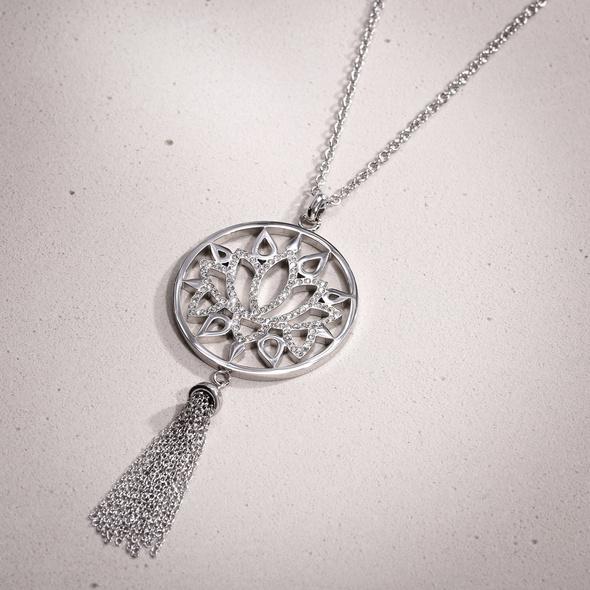 Kette - Lotus Balance Silver