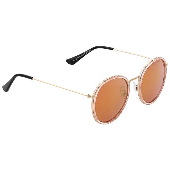 Sonnenbrille - Mirrored Pink