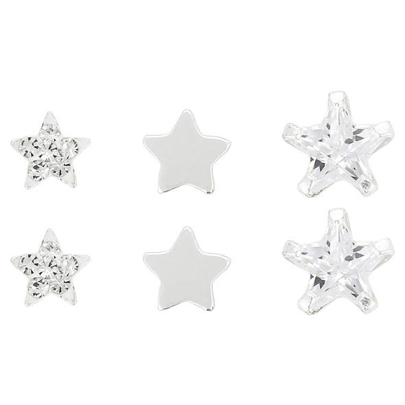 Ohrstecker - Silver Stars