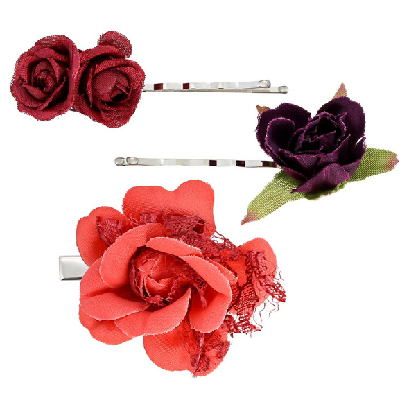 Haarklammer-Set - Rose Fancier