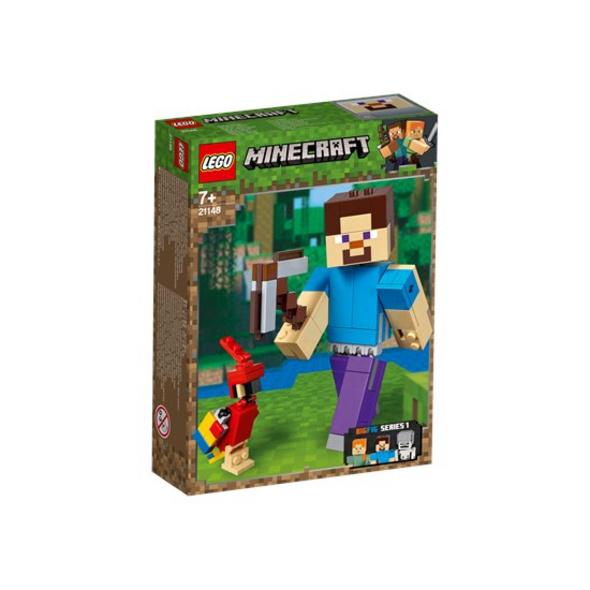 LEGO® Minecraft - BigFig Steve mit Papagei - 21148