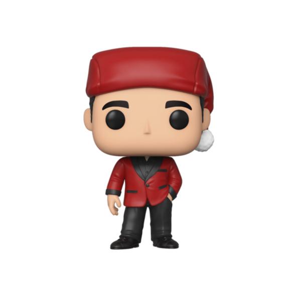 The Office - POP!- Vinyl Figur Michael als Santa