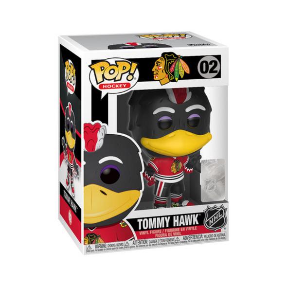 Mascot Blackhawks - POP!- Vinyl Figur Tommy Hawk