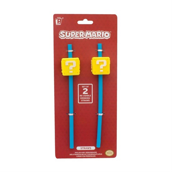Super Mario - Strohhalm