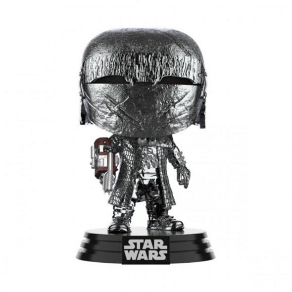 Star Wars - POP!-Vinyl Figur Ritter von Ren Kanone(Chrome)