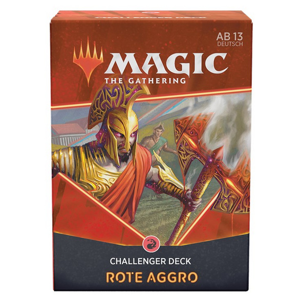 Magic the Gathering: Challenger Deck 2021 Rote Aggro