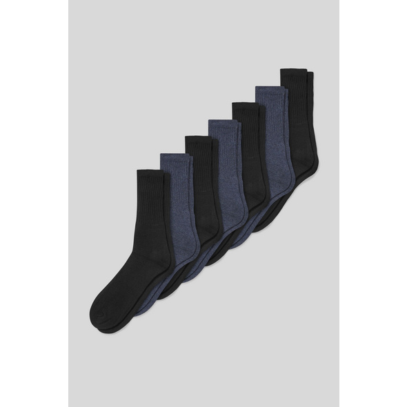 Multipack 7er - Socken - Bio-Bauwolle