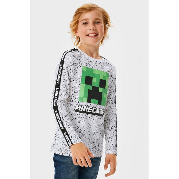 Minecraft - Langarmshirt - Bio-Baumwolle