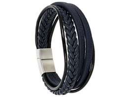 Armband - Blue Leather