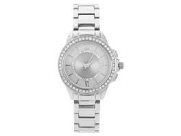 Uhr - Crystal Silver