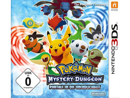 Pokémon Mystery Dungeon: Portale in die Unendlichkeit