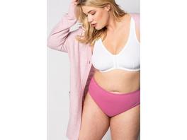 Slips, 5er-Pack, grau/pink