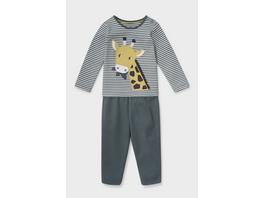 Baby-Pyjama - Bio-Baumwolle - 2 teilig